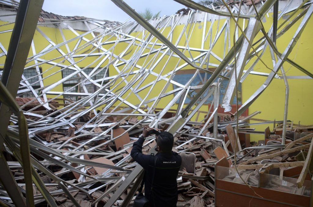 Eight dead, dozens injured after earthquake shakes East Java