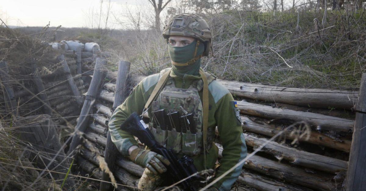 EU warns 'spark' could set off confrontation at Russia-Ukraine border