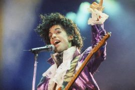 Prince Fans Pay Respects At Paisley Park Five Years After Death
