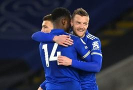 Vardy Ends Goal Drought As Leicester Beats West Brom