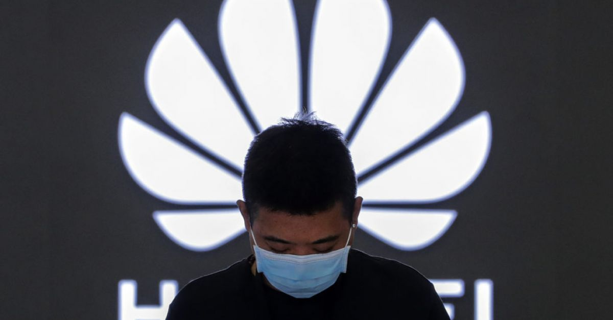 Huawei sales down 16.5% amid US sanctions