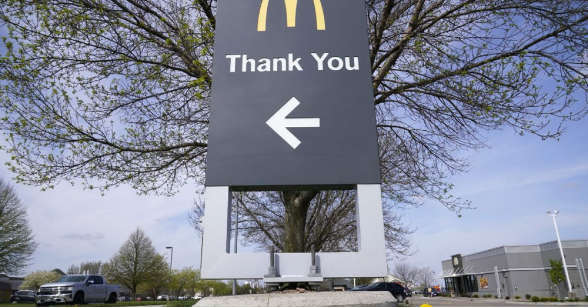 McDonald's comes roaring back as restrictions ease in US