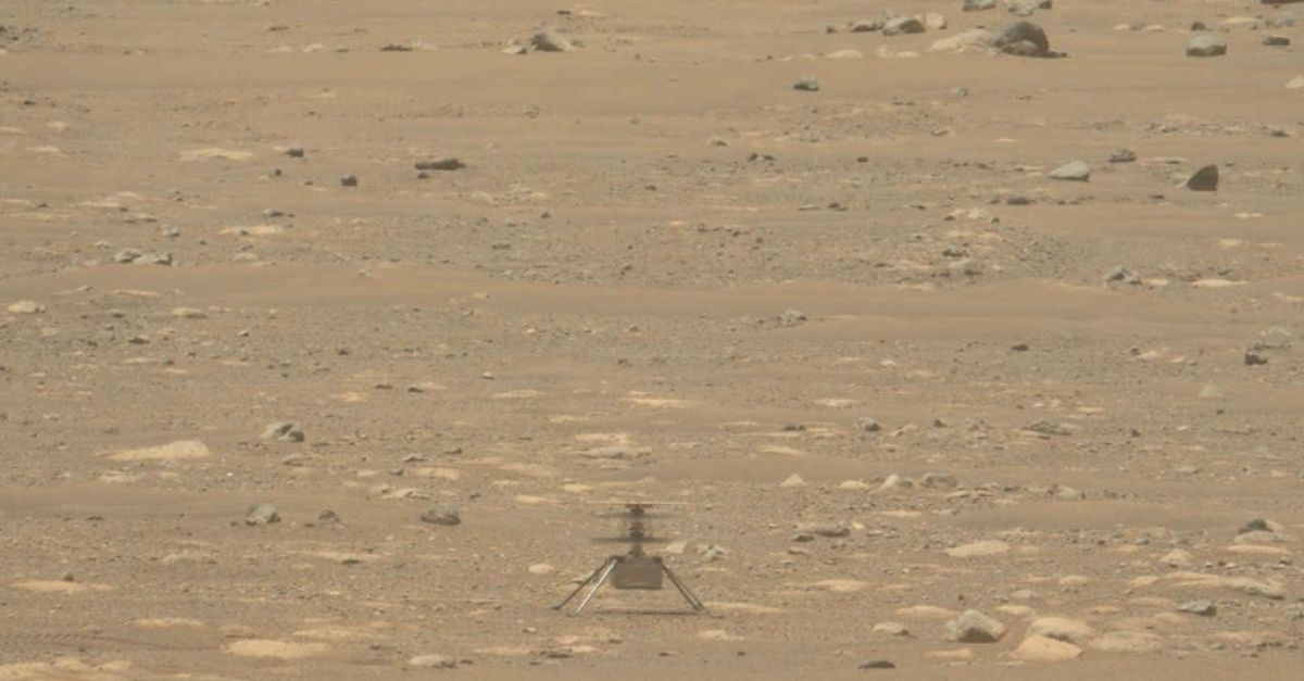 Mars helicopter gets extra month of flying as rover's scout