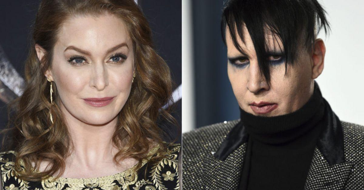 Actor Esme Bianco sues Marilyn Manson alleging sexual abuse