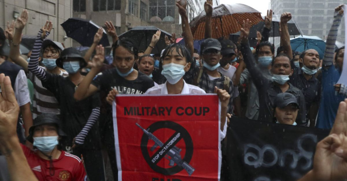 UN calls for return to democracy in Myanmar, end to violence