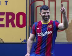 Sergio Aguero Hopes He Can Star Alongside Lionel Messi For Barcelona