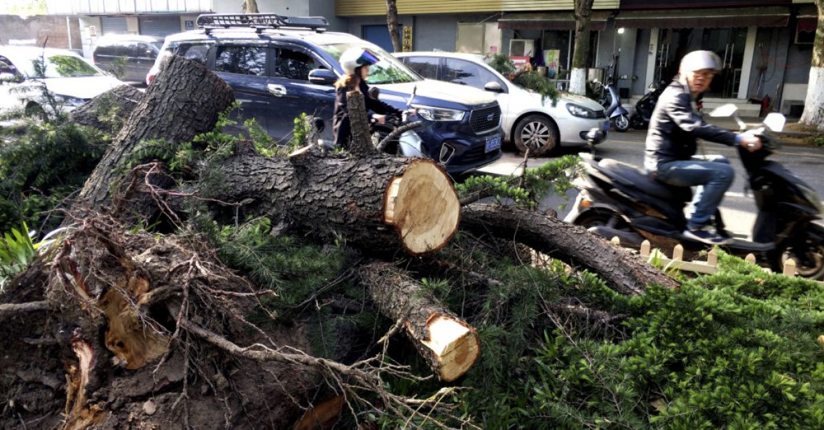 Thousands evacuated as deadly storm hits eastern China