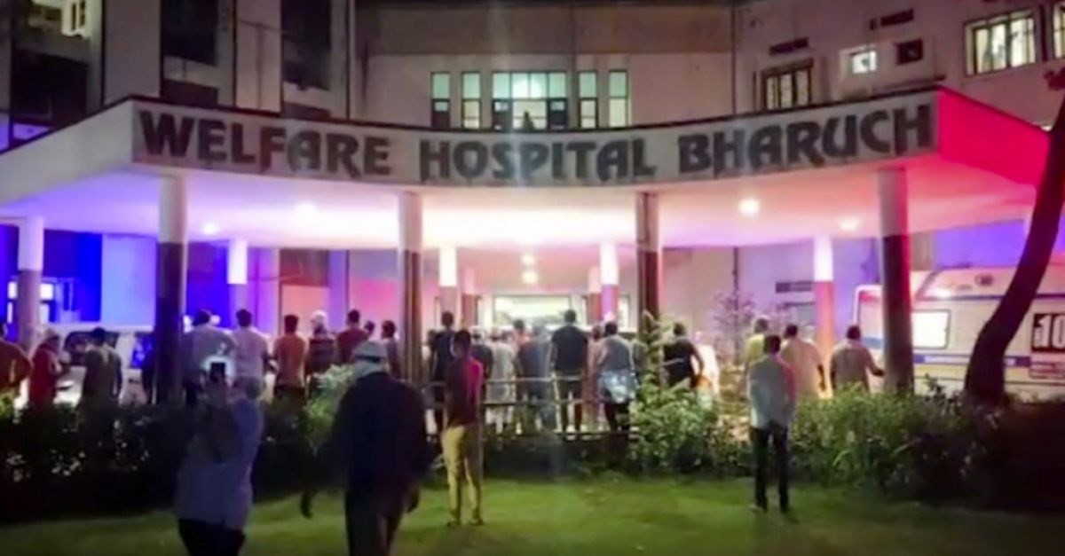 Hospital fire kills 18 coronavirus patients as India steps up jabs rollout