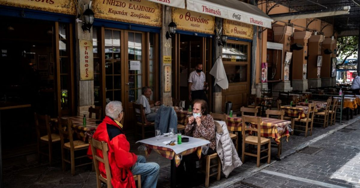 'Like old times again' as Greece reopens bars and restaurants