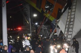 20 Dead And Dozens Injured As Metro Overpass Collapses In Mexico City
