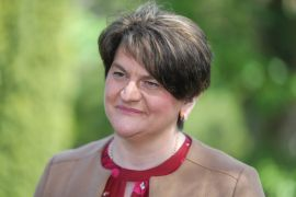 Warm Words For Outgoing Arlene Foster Across Stormont Assembly Chamber