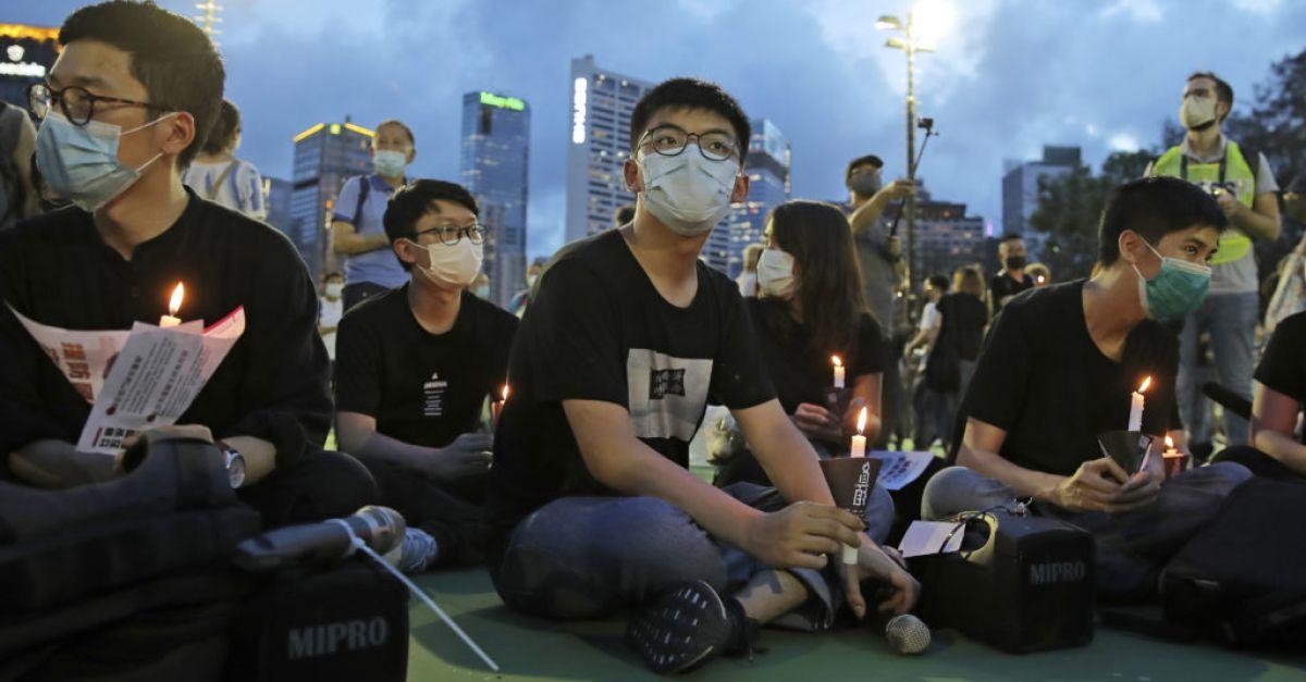 Hong Kong activist Joshua Wong handed longer jail term for Tiananmen vigil