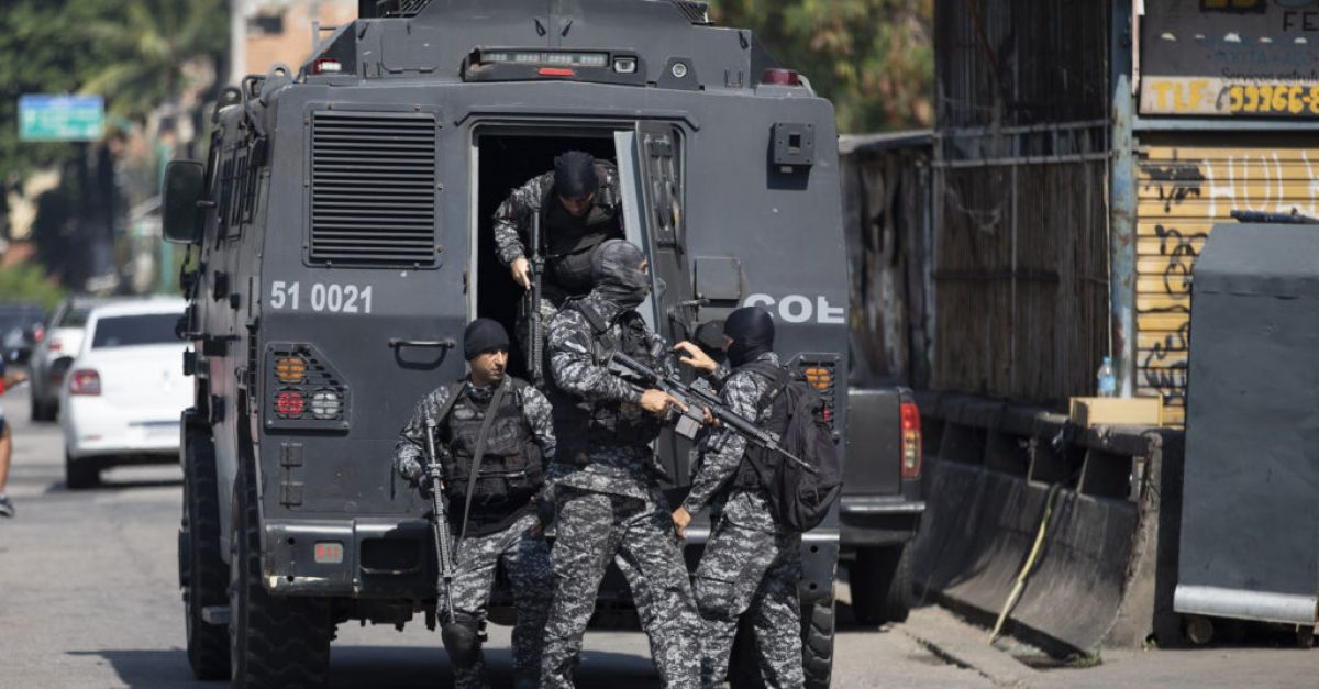 At least 25 dead after police drugs raid in Rio de Janeiro