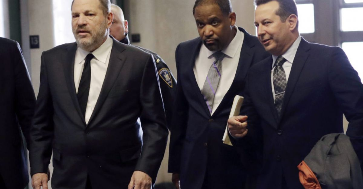 Weinstein sues former lawyer for breach of contract
