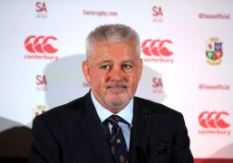 Gatland Confident Lions Squad Has Firepower To Match South Africa