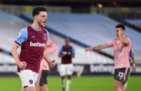 Declan Rice Set To Return For West Ham's Push For Champions League Football