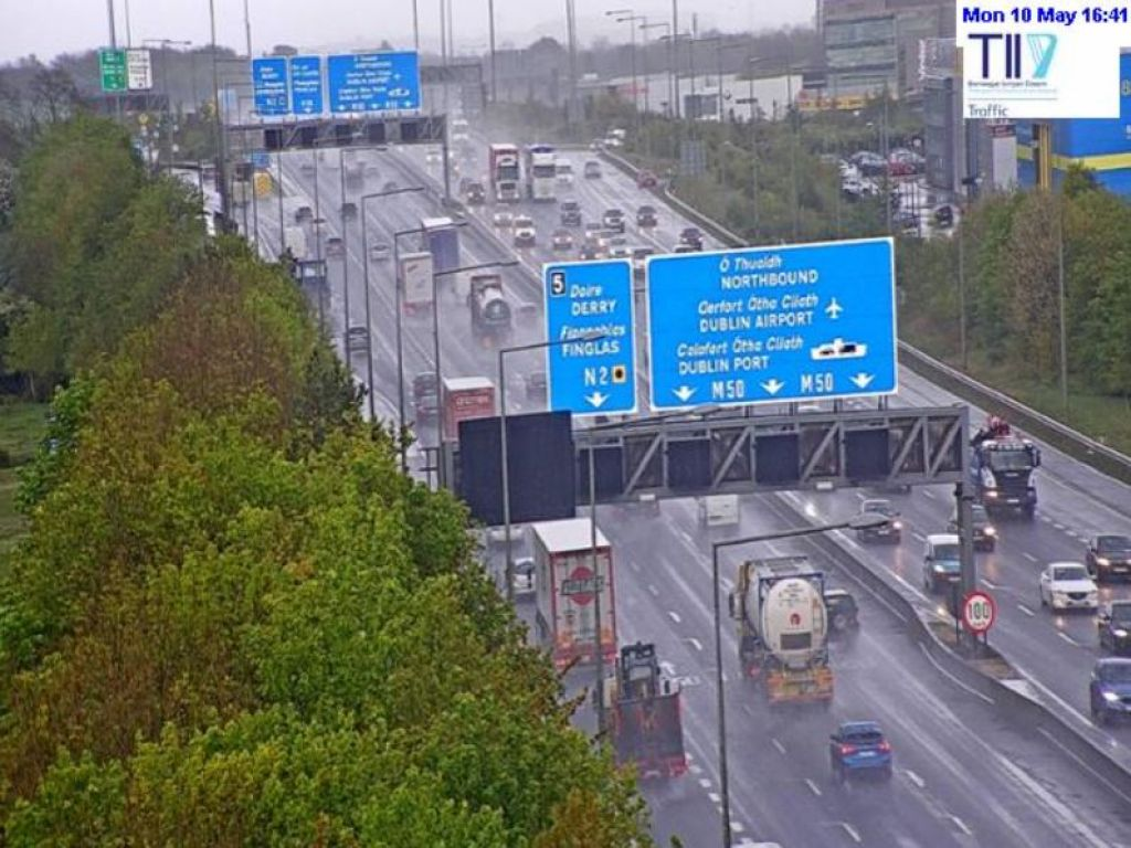 Traffic volumes increase around the country as inter-county travel resumes
