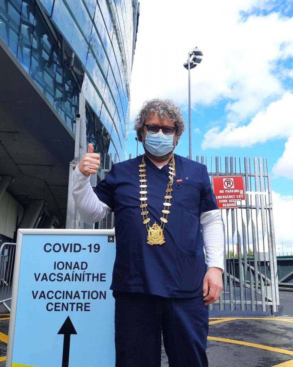 Optometrists join Ireland's Covid vaccination drive