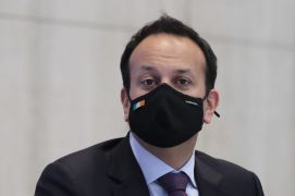 Mask-Wearing Requirement For Fully Vaccinated Could Go, Varadkar Says