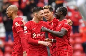 Liverpool Seal Champions League Place With Sadio Mane At The Double