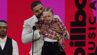 Drake Joined By Three-Year-Old Son Adonis On Stage At The Billboard Music Awards