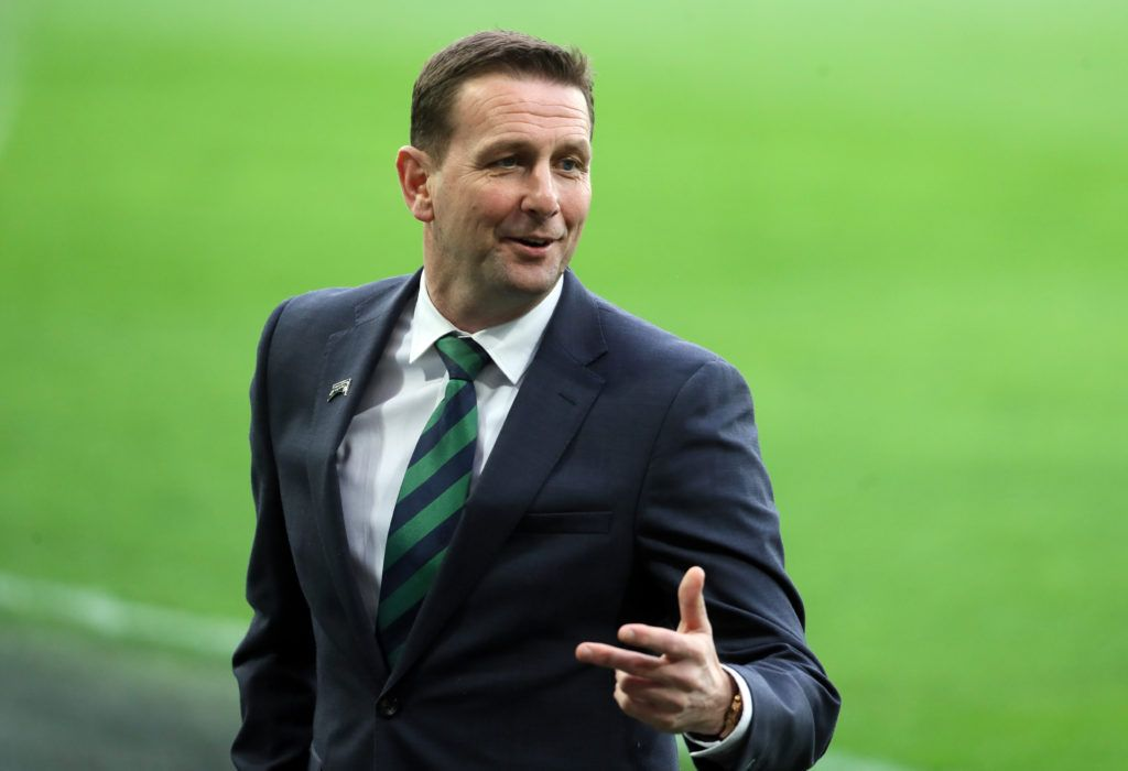 Northern Ireland boss Baraclough adds youth to squad for two friendlies