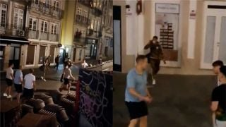 Chelsea And Manchester City Fans Clash In Porto Ahead Of Champions League Final