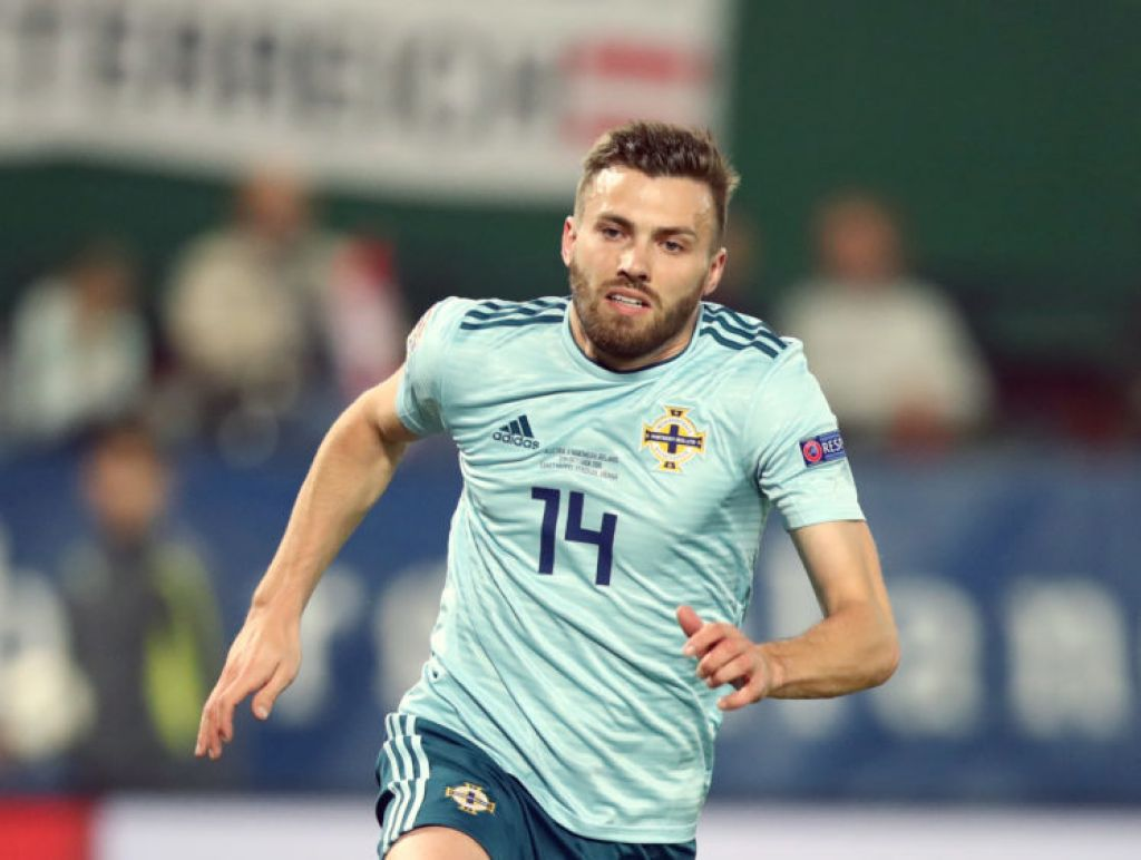 Stuart Dallas 'natural choice' to lead Northern Ireland in friendly, says Baraclough