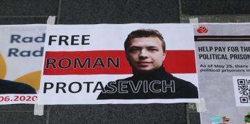 Internet News Editor Detained In Belarus Amid Protests Over Arrest Of Journalist
