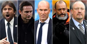 Five High-Profile Football Managers Looking For Jobs This Summer