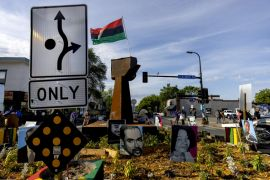 Barriers And Memorials Removed At 'George Floyd Square'