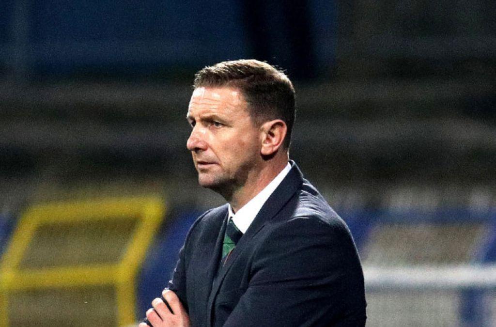 Northern Ireland suffer narrow friendly defeat in Ukraine