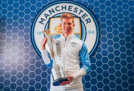 Kevin De Bruyne Named Pfa Men's Player Of Year For Second Season In A Row