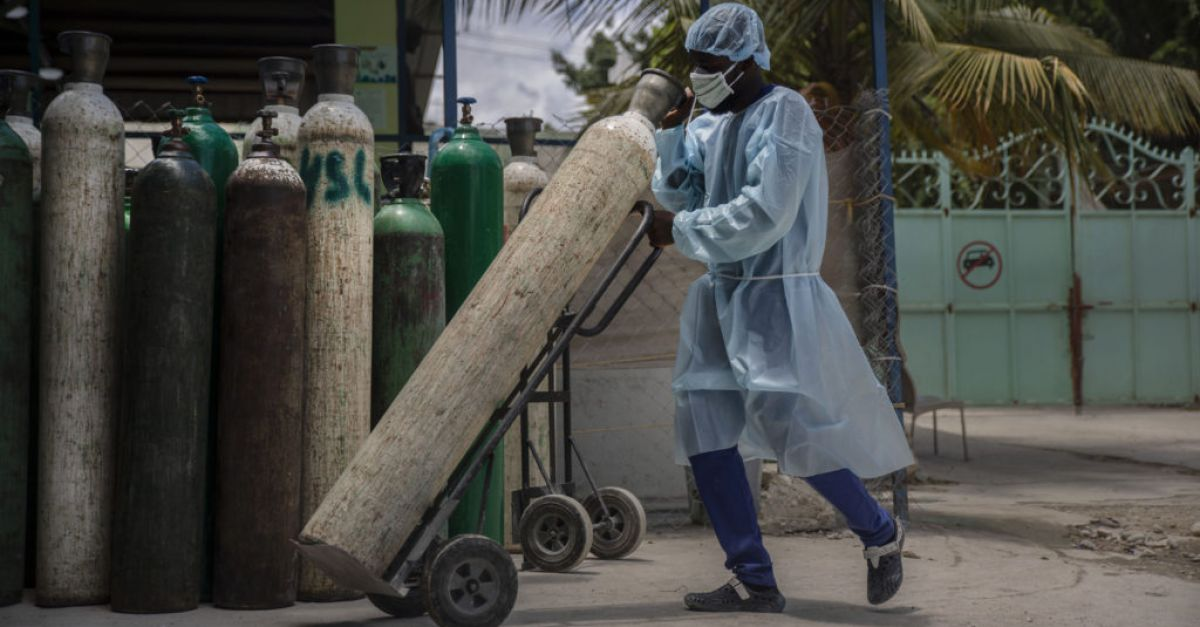 Coronavirus cases spike in Haiti with vaccines yet to be delivered