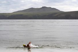 Swimming Group Hopeful Of New World Record After Ireland To Wales Swim