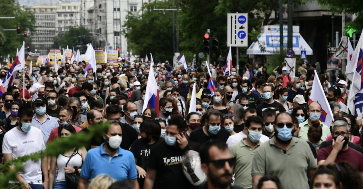 Public services in Greece disrupted by widespread strikes