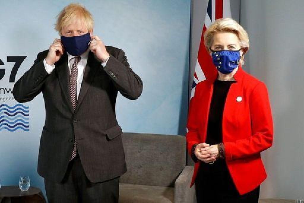 Von der Leyen tells Johnson UK must implement Brexit deal