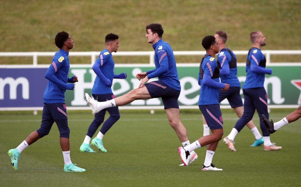 Euro 2020: Harry Maguire trains again as England return to work following Croatia win