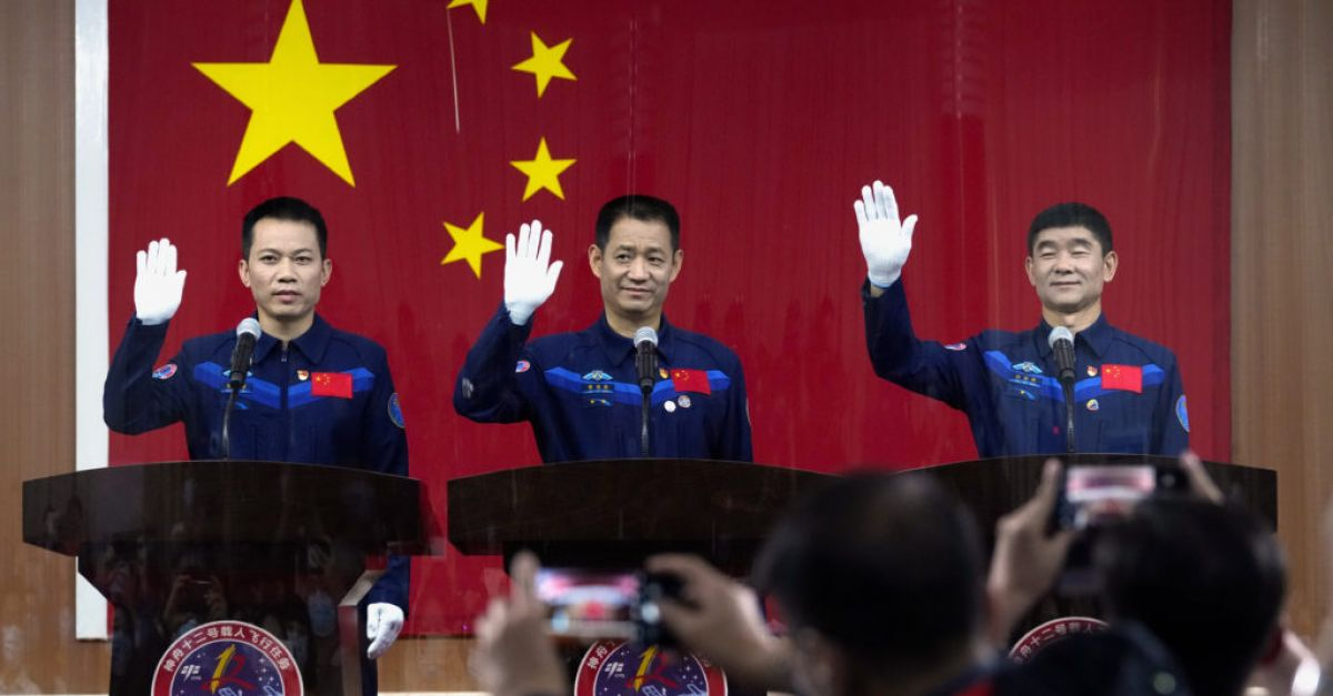 China prepares to send first crew to its space station