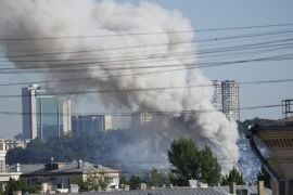 Four Injured In Blaze At Moscow Fireworks Warehouse