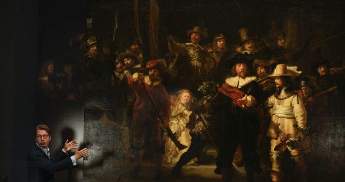 Rembrandt's huge Night Watch painting made bigger still | BreakingNews.ie