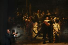 Rembrandt's Huge Night Watch Painting Made Bigger Still