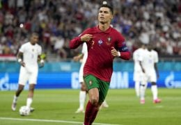 Euro 2020: Ronaldo Equals International Goal Record In Draw Against France
