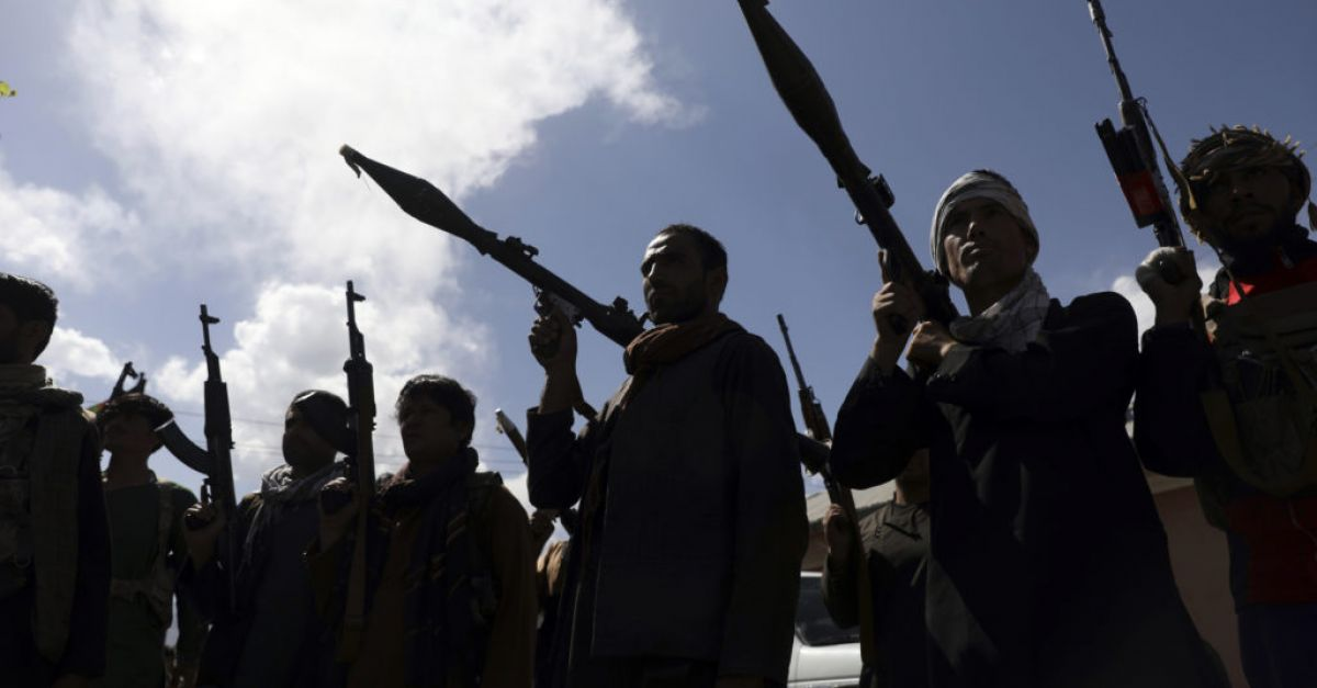 Taliban gains drive Afghan government to recruit militias