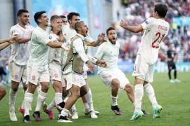 Spain Win Wonderful Copenhagen Contest And Knock Out Croatia