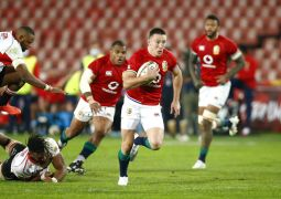 Four-Try Josh Adams Helps Rampant British And Irish Lions Open Tour With Big Win