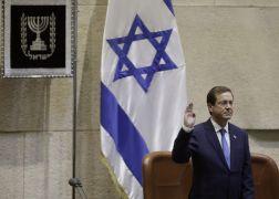 Isaac Herzog Sworn In As Israel's Ceremonial President