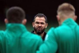 Andy Farrell Urges Ireland To Put Team Needs First After Picking Eight Debutants