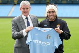 On This Day In 2009: Manchester City Announce Deal To Sign Carlos Tevez