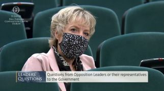 Newly Elected Ivana Bacik Takes Seat In Dail